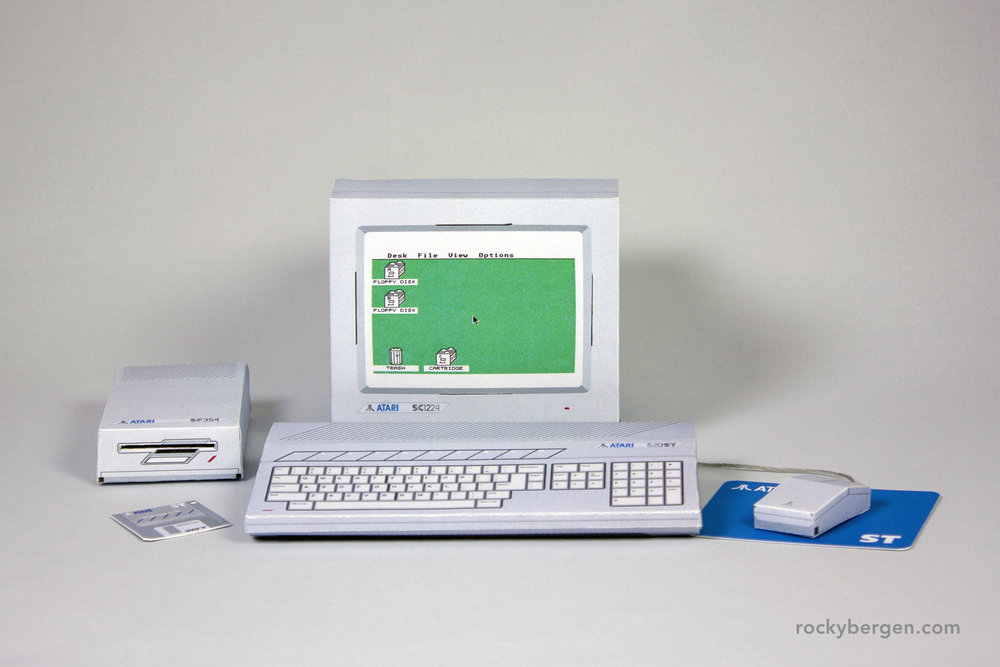 "The Atari ST was something I only saw a couple of times while shopping in the ""big city""."