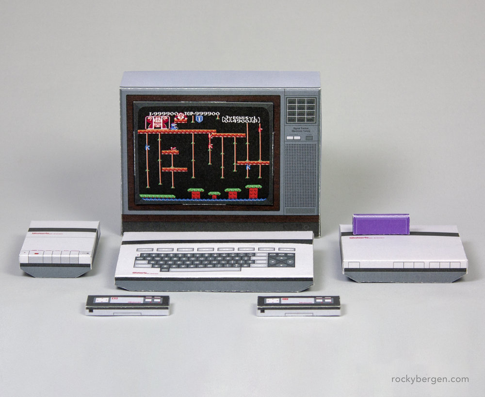 The AVS was Nintendo's first concept for a western 8-bit console based off of the Famicom.