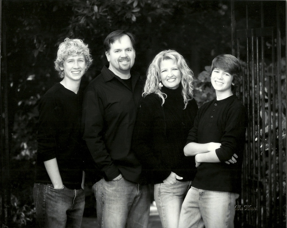 The Gages in 2011: Riley, Brett, Dana, Connor