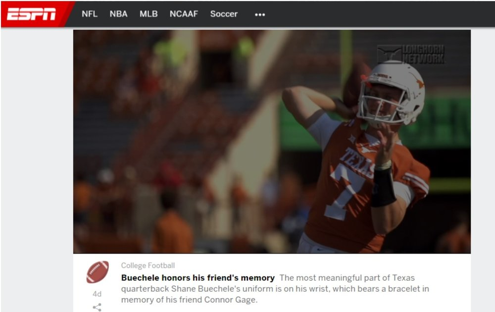 ESPN, Longhorn Network, September 2017