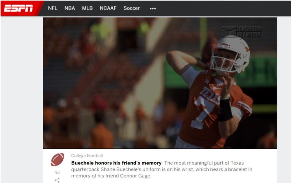 ESPN, Longhorn Network, September 2017