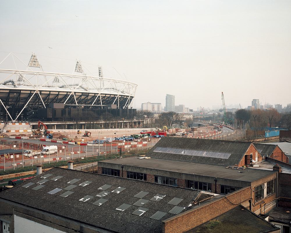 A project that looks at the periphery of the 2012 London Olympic site and its impact on the local landscape.