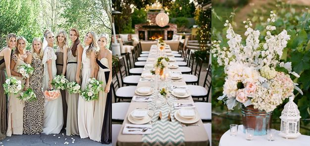 neutral wedding colors