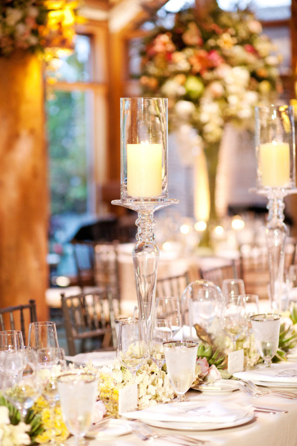 decadent wedding decor