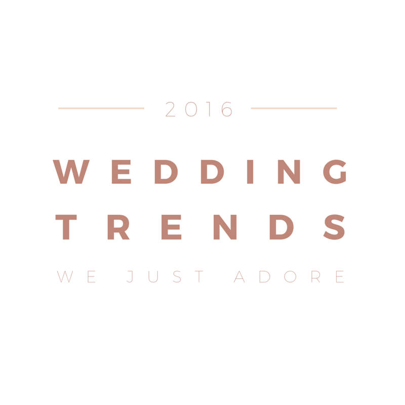 2016 weddings trends