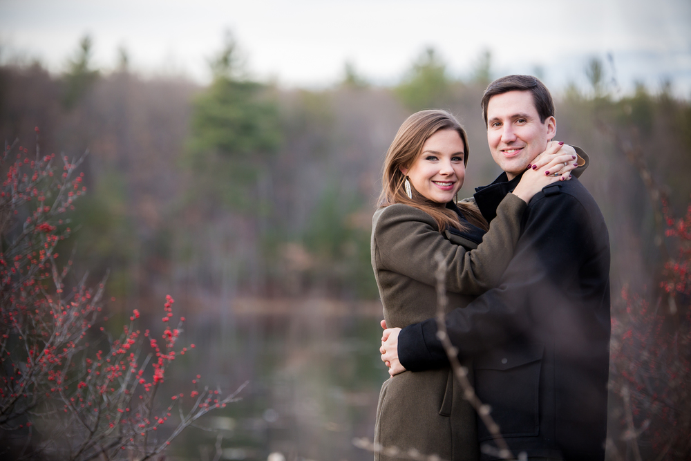 foliage on mountain engagement