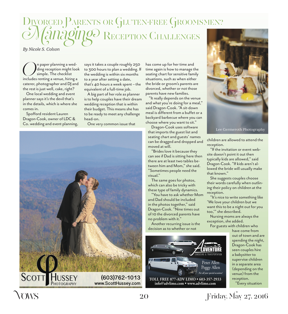 Keene Sentinel Weddings