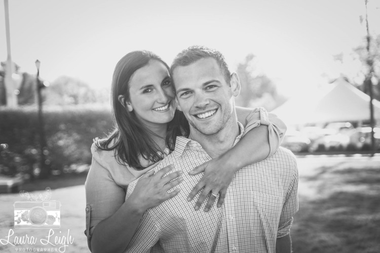 Laura Leigh Photography engagement photo