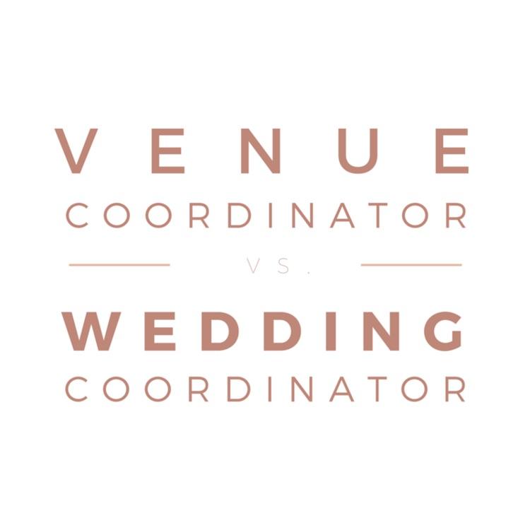 Venue Coordinator vs. Wedding Coordinator