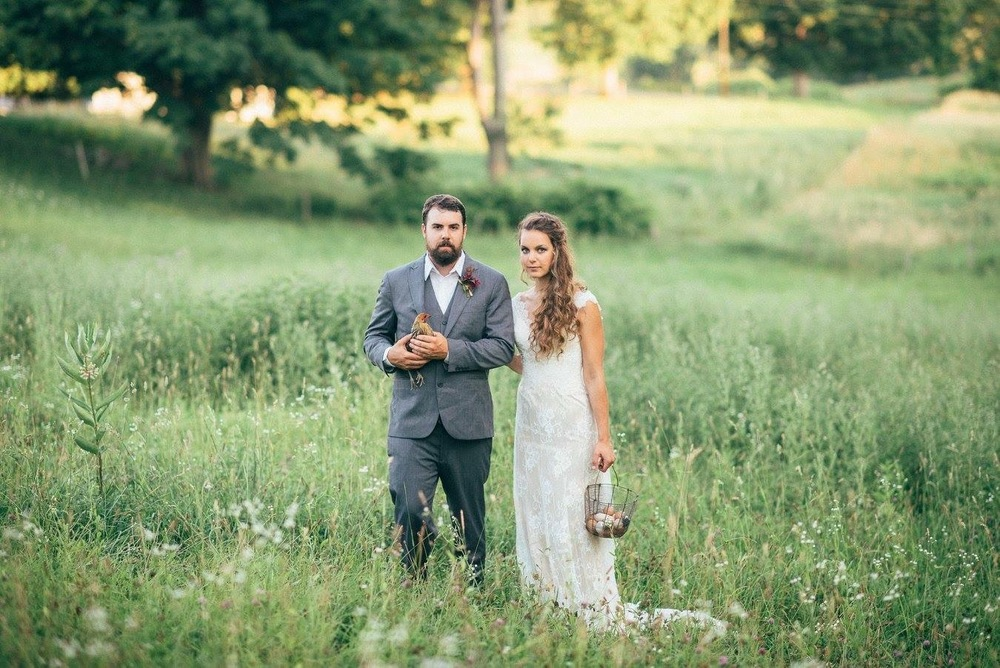 farm theme nh wedding