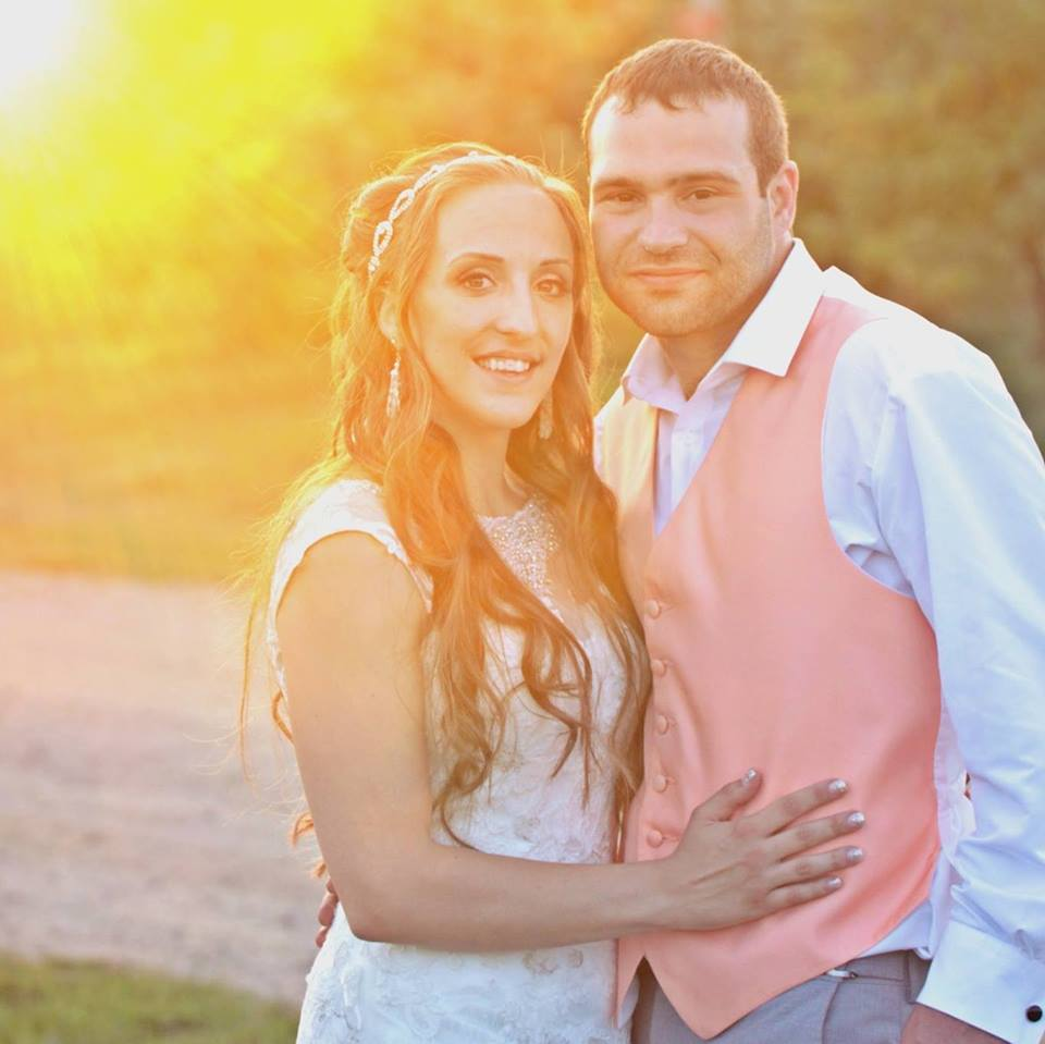 Alyson's Orchard Sunset Wedding