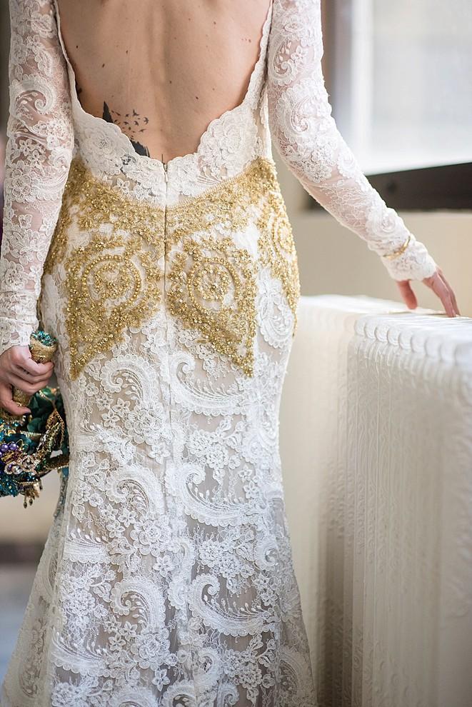 Portland Oregon Courthouse Wedding | Dress