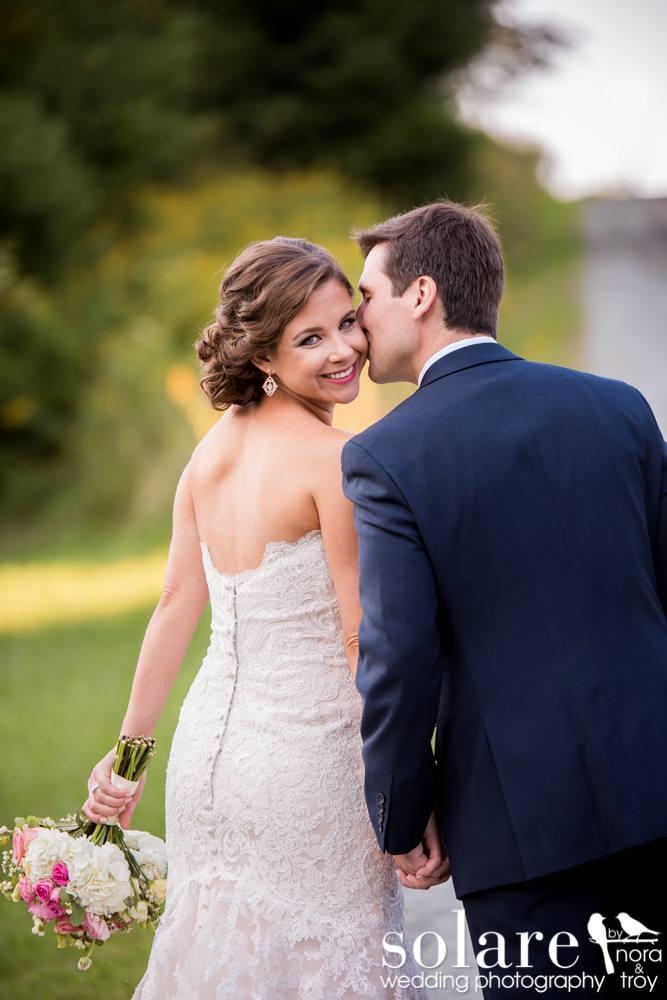 happy bride | norwich wedding