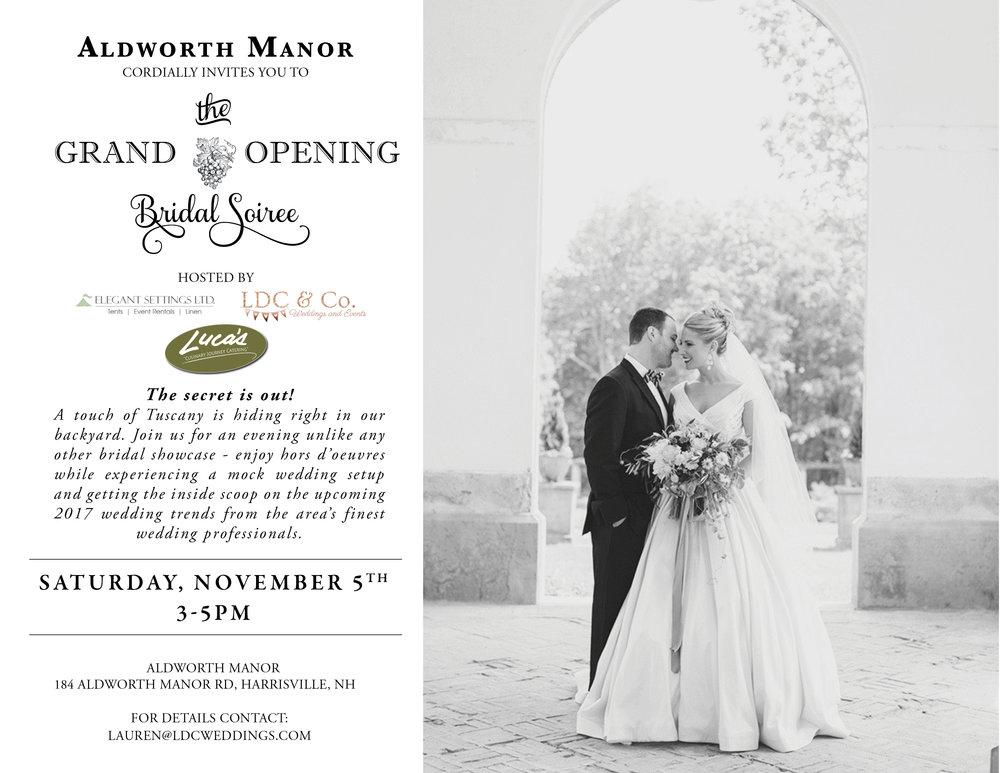 aldworth manor harrisville nh grand opening