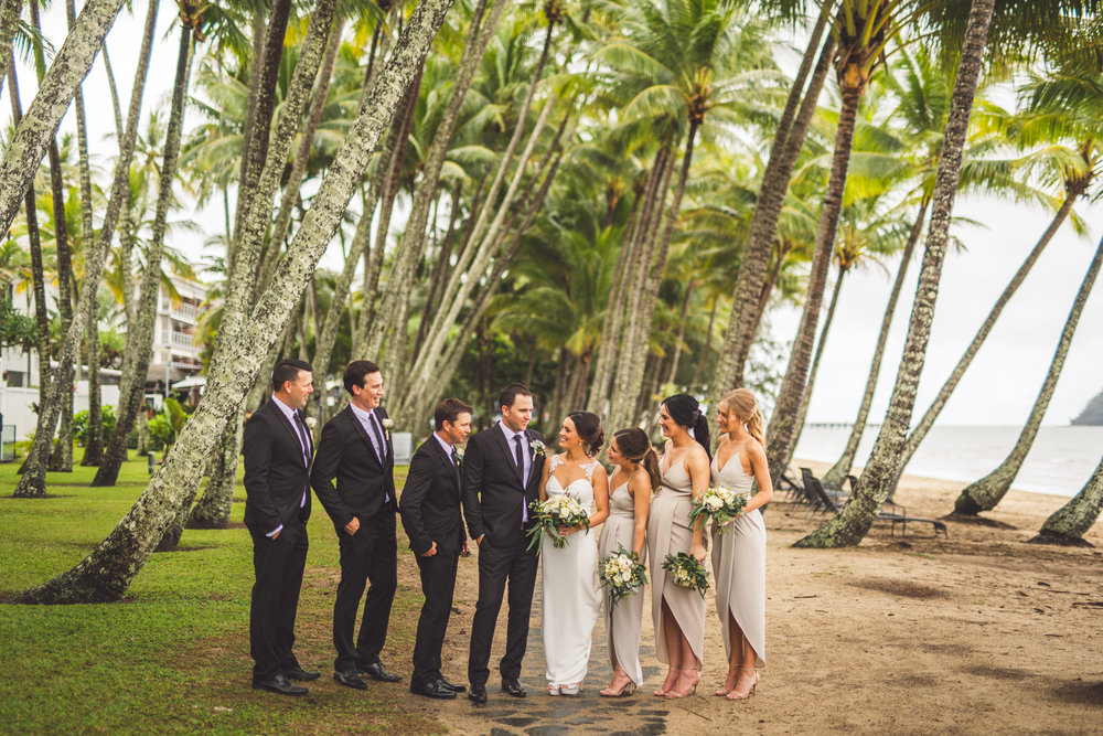 bridal party palm cove