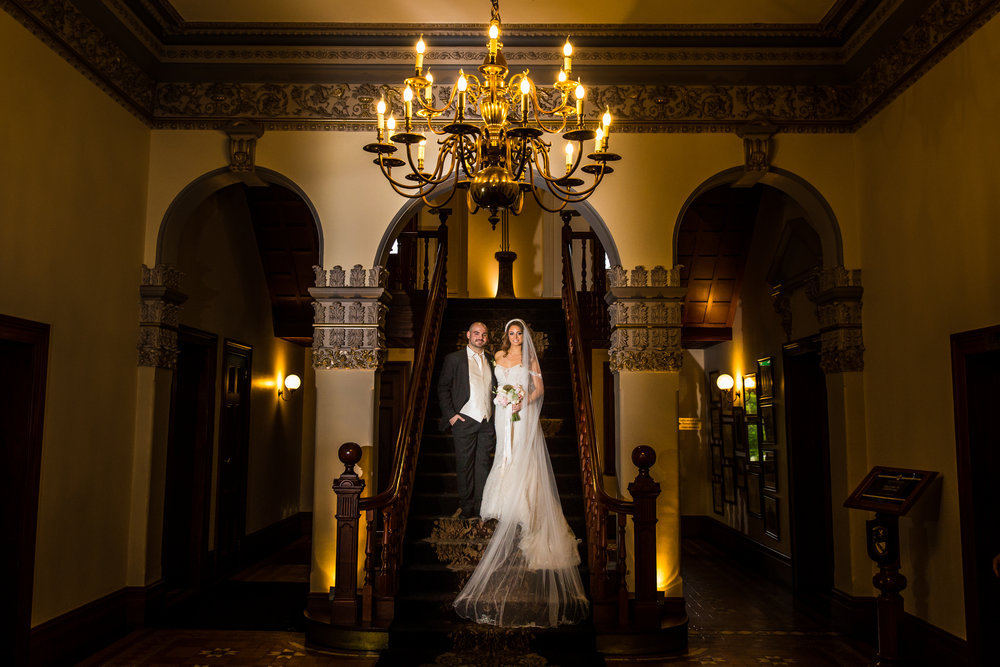 Curzon Hall | Sandstone Castle