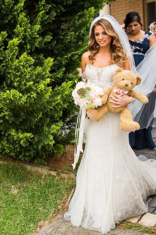 Ringbearer  teddy bear gift