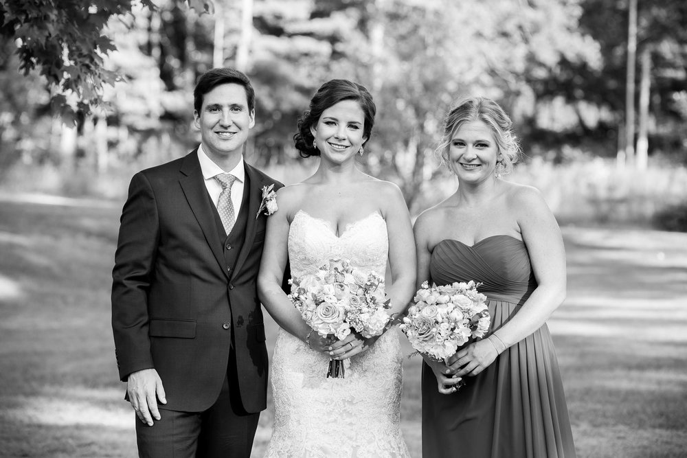 bride groom sister