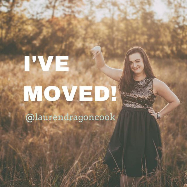 👋🏻 Hey guys! I've moved! Head over to @laurendragoncook to stay up to date on all the things!