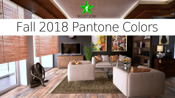 Fall 2018 home decor colors pantone