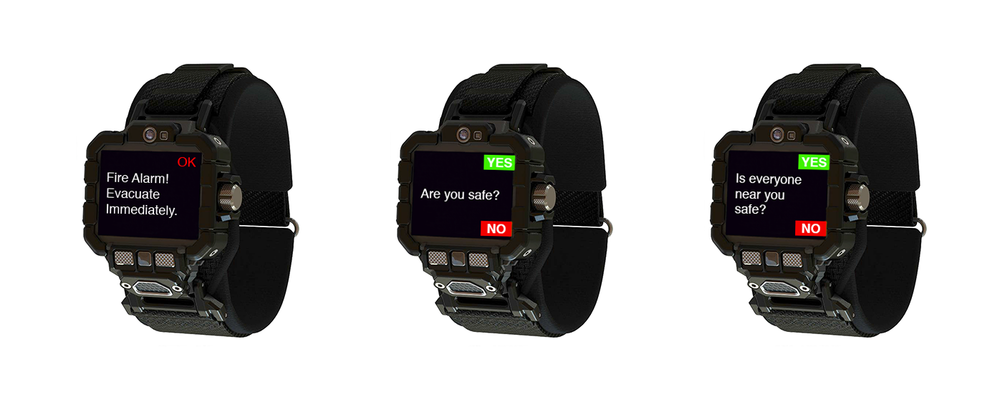connected miner smart watch