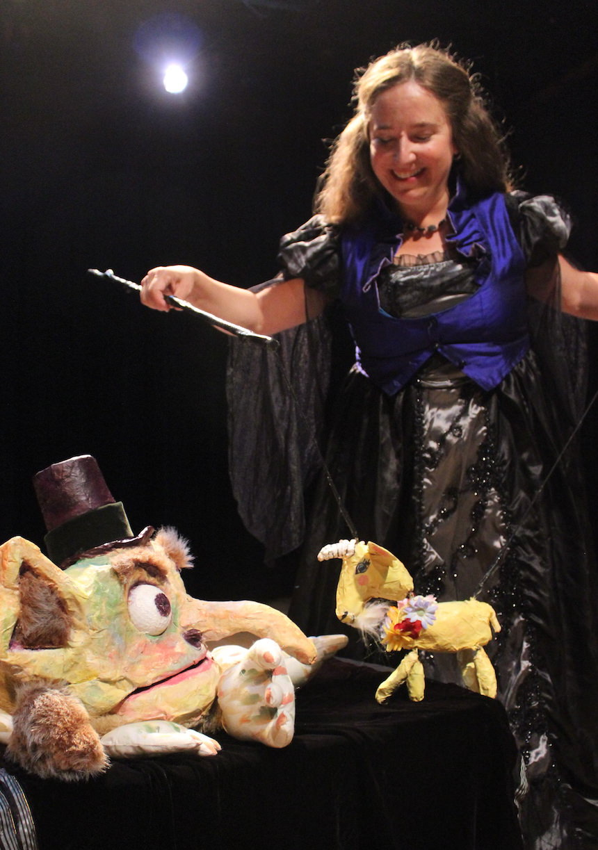 Christian Anne Smith Puppets  Firehouse The Three Billy Goats Gruff, Flora and The Troll 13.JPG