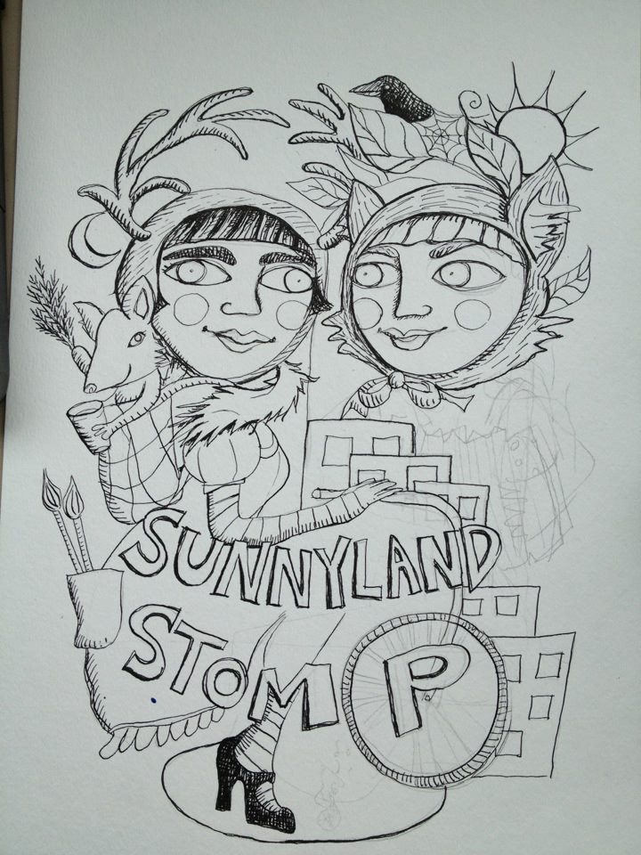 sunnyland Stomp progress pic.jpg