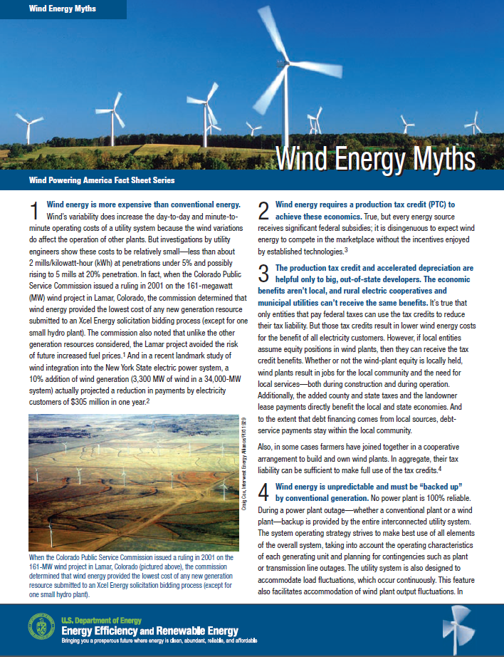 10 Benefits About Windpower