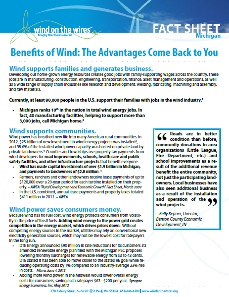 Benefits of Wind