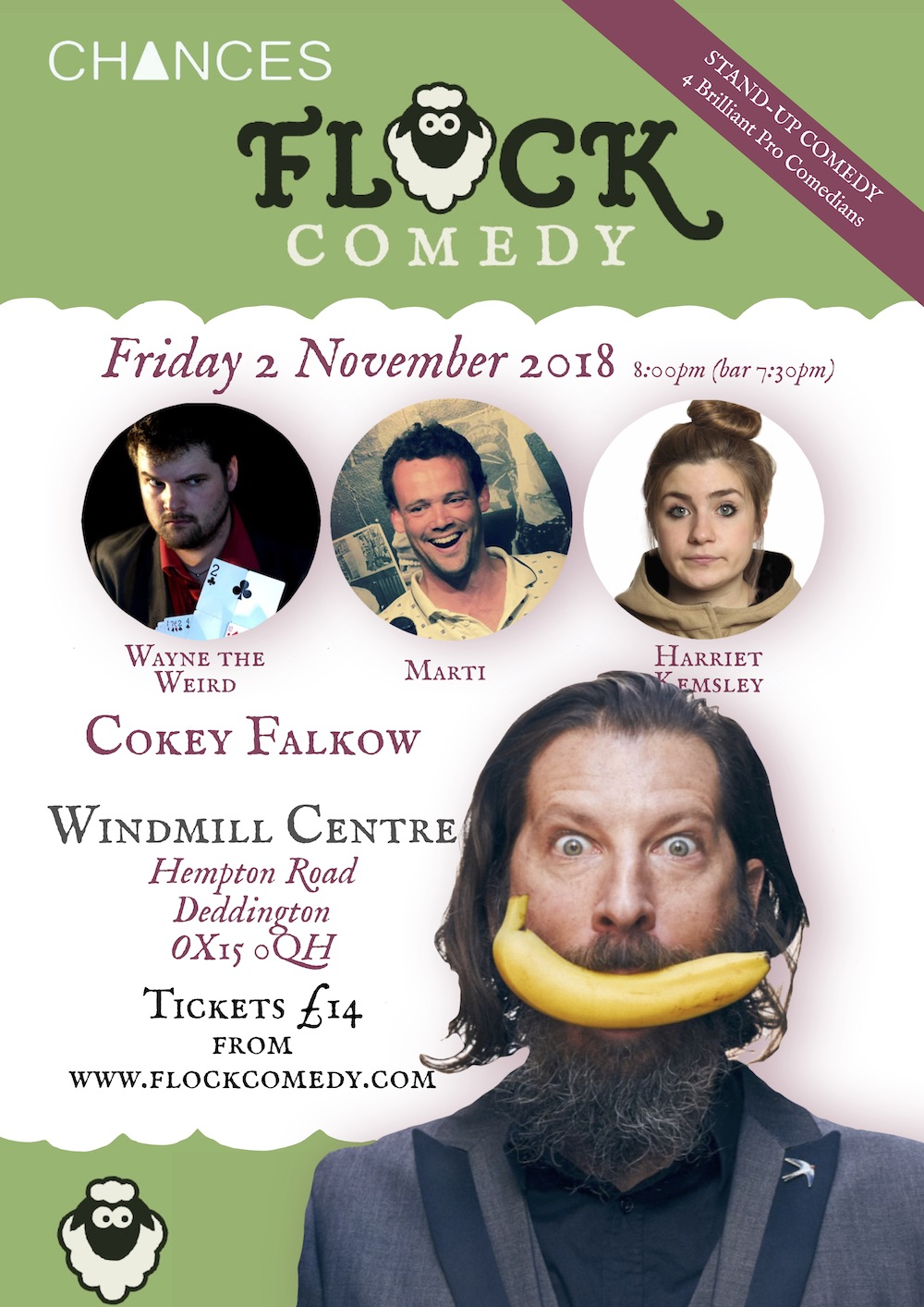 Stand-up Comedy in Deddington