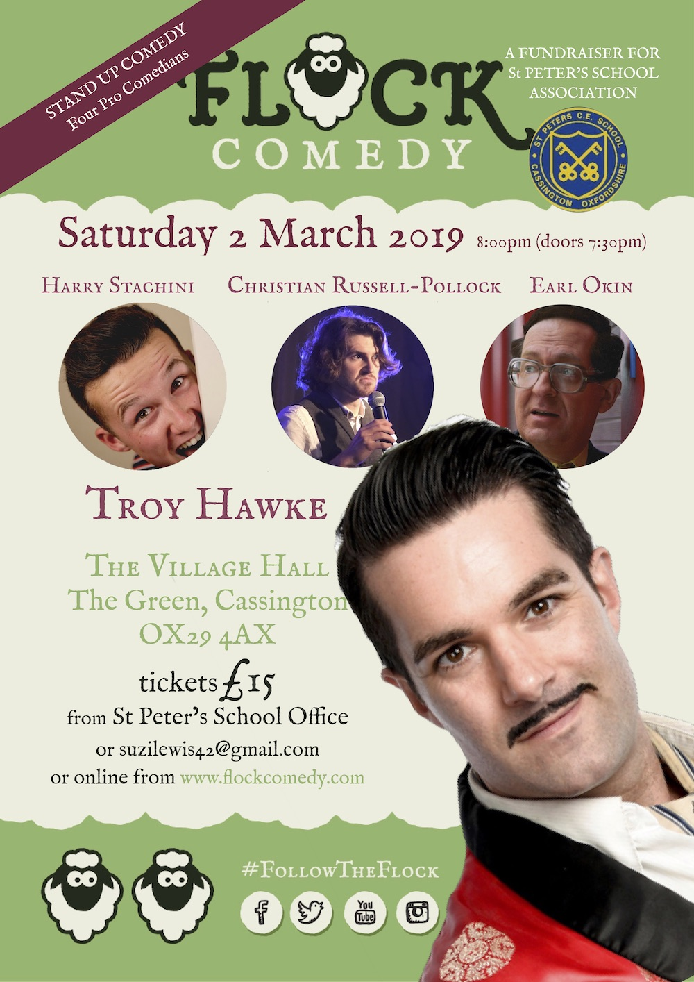 Flock Comedy in Cassington