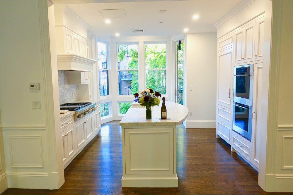 sold - 60 w. rutland - south end,boston - penthouse triplex w. 2 decks & 1 parking space - b.star