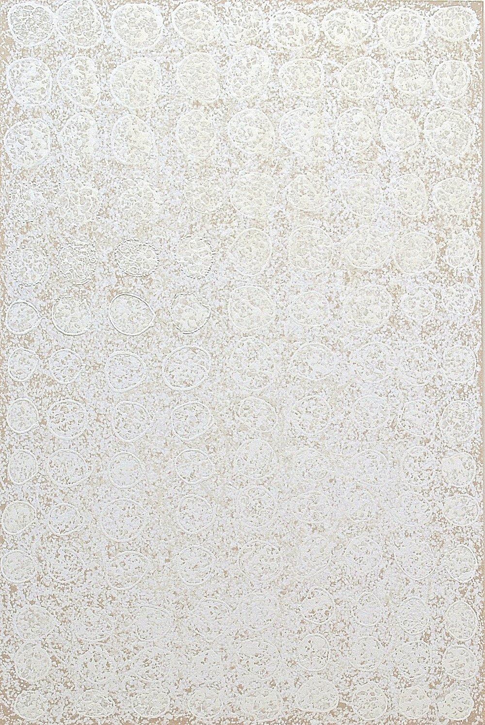 """Origin , casein, mineral, ash and plant pigment on canvas, 60""""x40"""", $4300"""