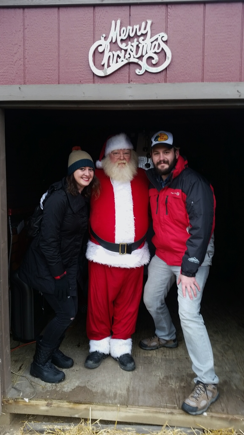 Our picture with Santa