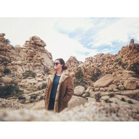 Jenny in Joshua Tree