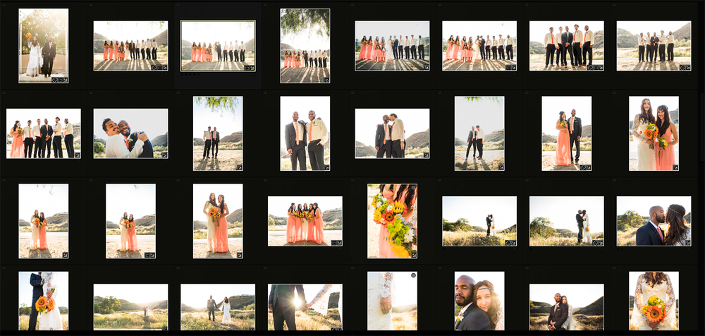 "A typical wedding day will result in several hundred final images.  Each of these images is special and unique.  Handing all of these images away to your client can result in a loss of hundreds if not thousands of dollars in beautiful printed materials.  This huge number of images is also usually overwhelming and more than often will result in little happening with that disc or flash drive of ""everything"" you've handed over."