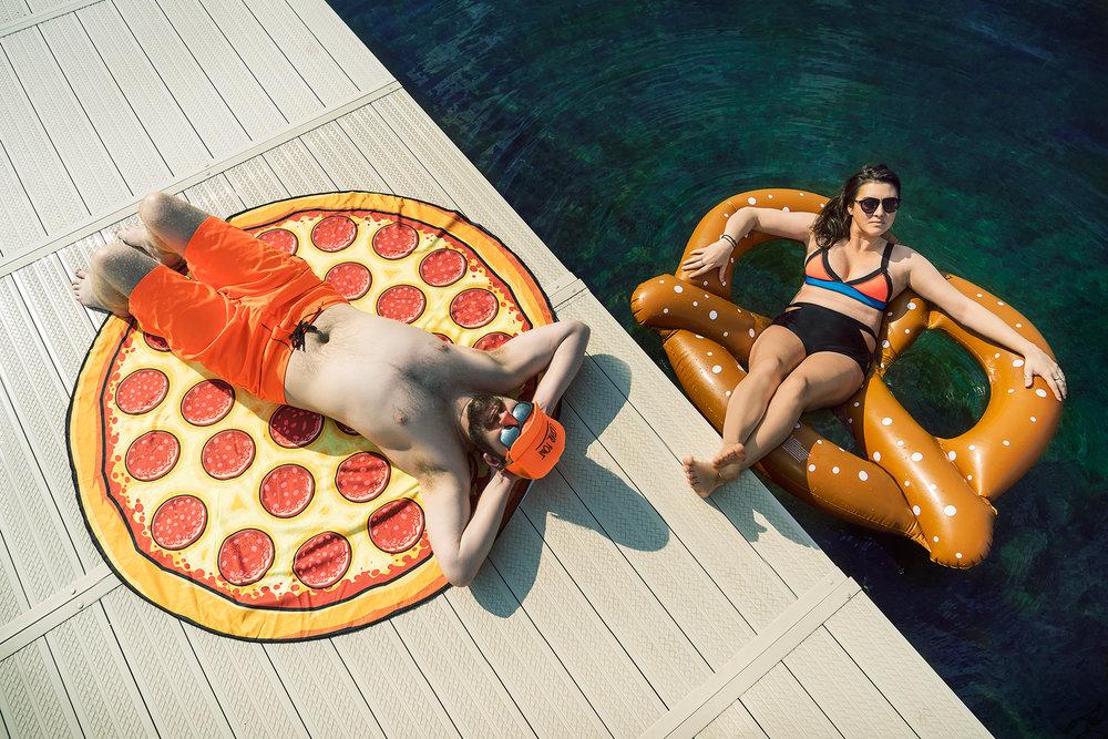 Summer Bod: Carboload Pizza & Pretzels