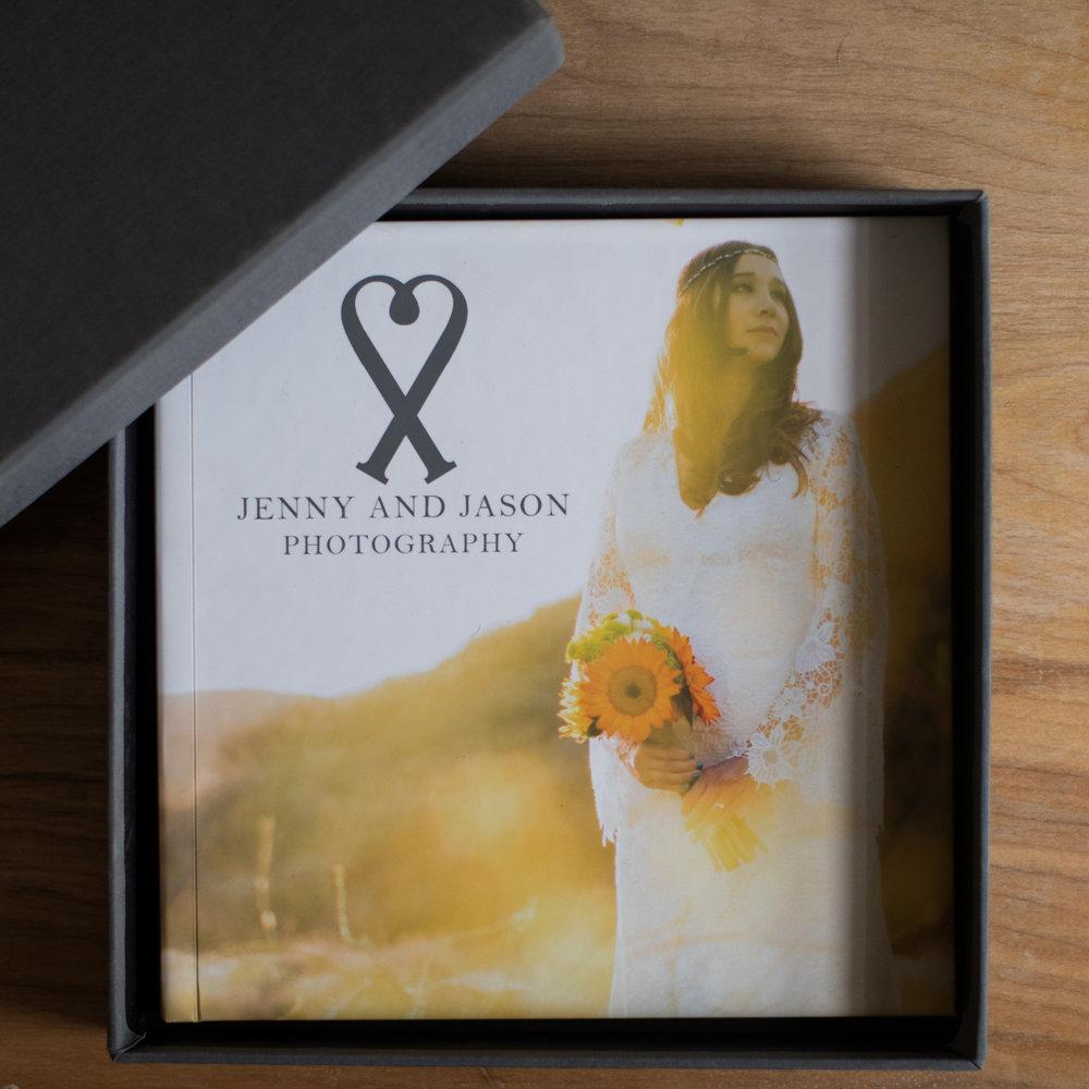 Layflat Album in its Box