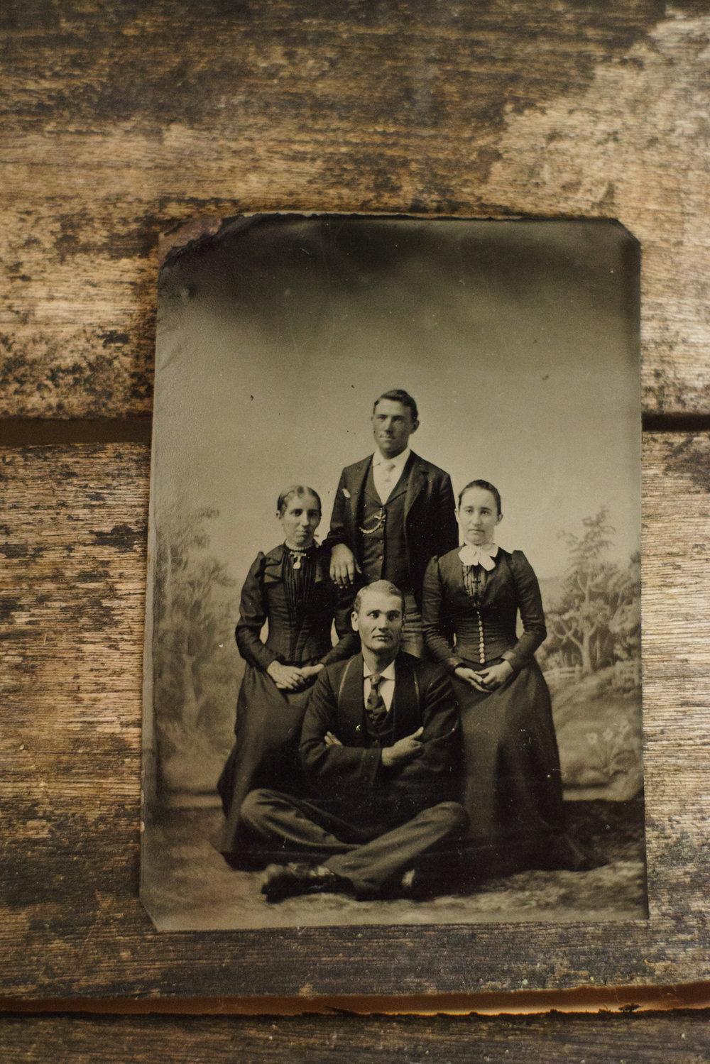 Tintypes - 1856-1930's