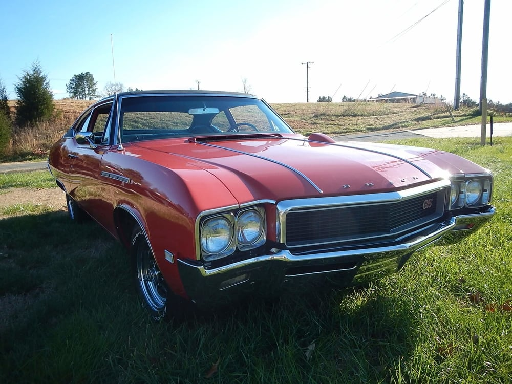 1968 Buick GS 350 California restored