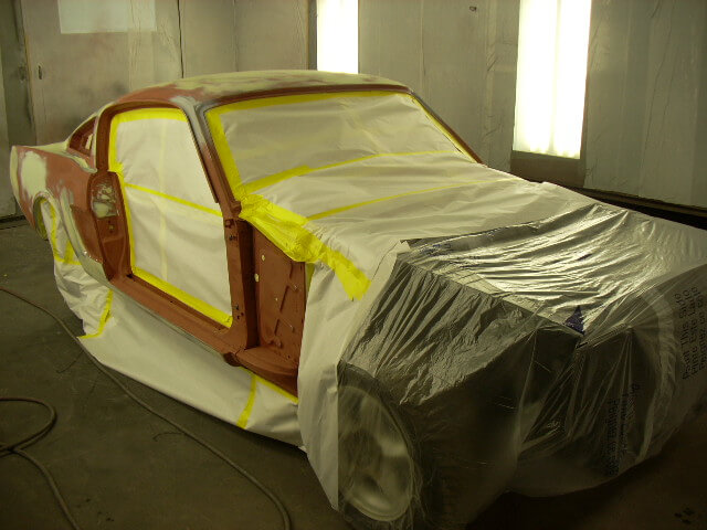 1965 Mustang Fastback paint ready.JPG