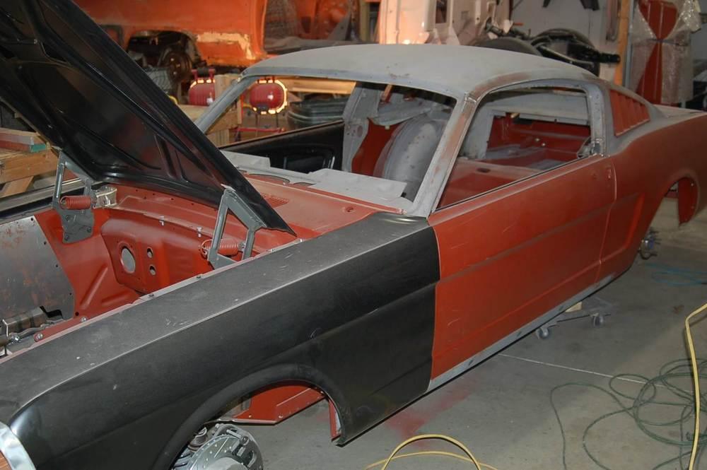 1965 Mustang restomod fender.JPG