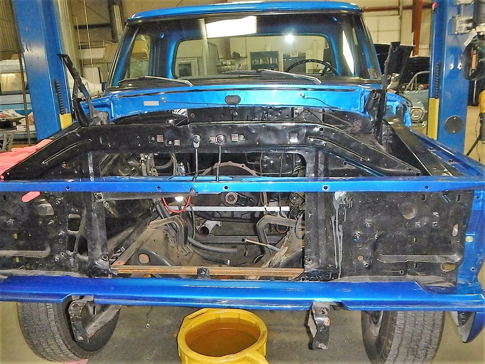 1968 Ford F-100 Front End Swap - Mercury Crown Vic  031.jpg