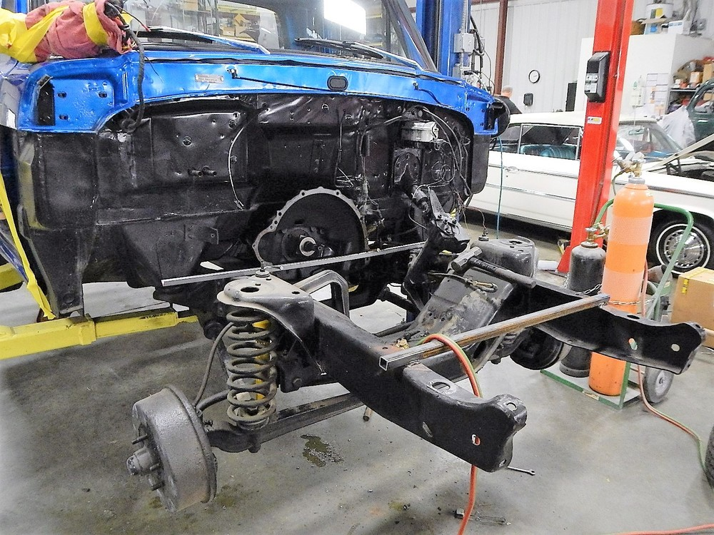 1968 Ford F-100 Front End Swap - Mercury Crown Vic  036.jpg