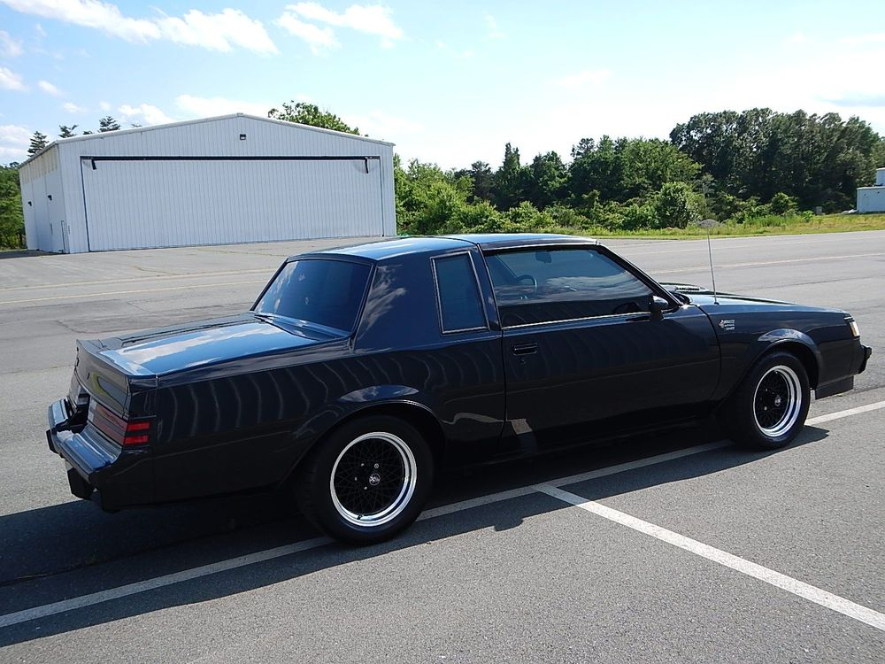 1987 Buick Grand National T-Tops