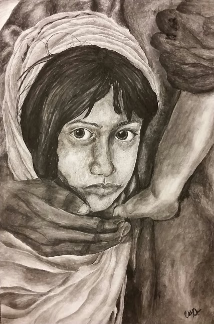 """Syrian Child"" By Chloe Glass"