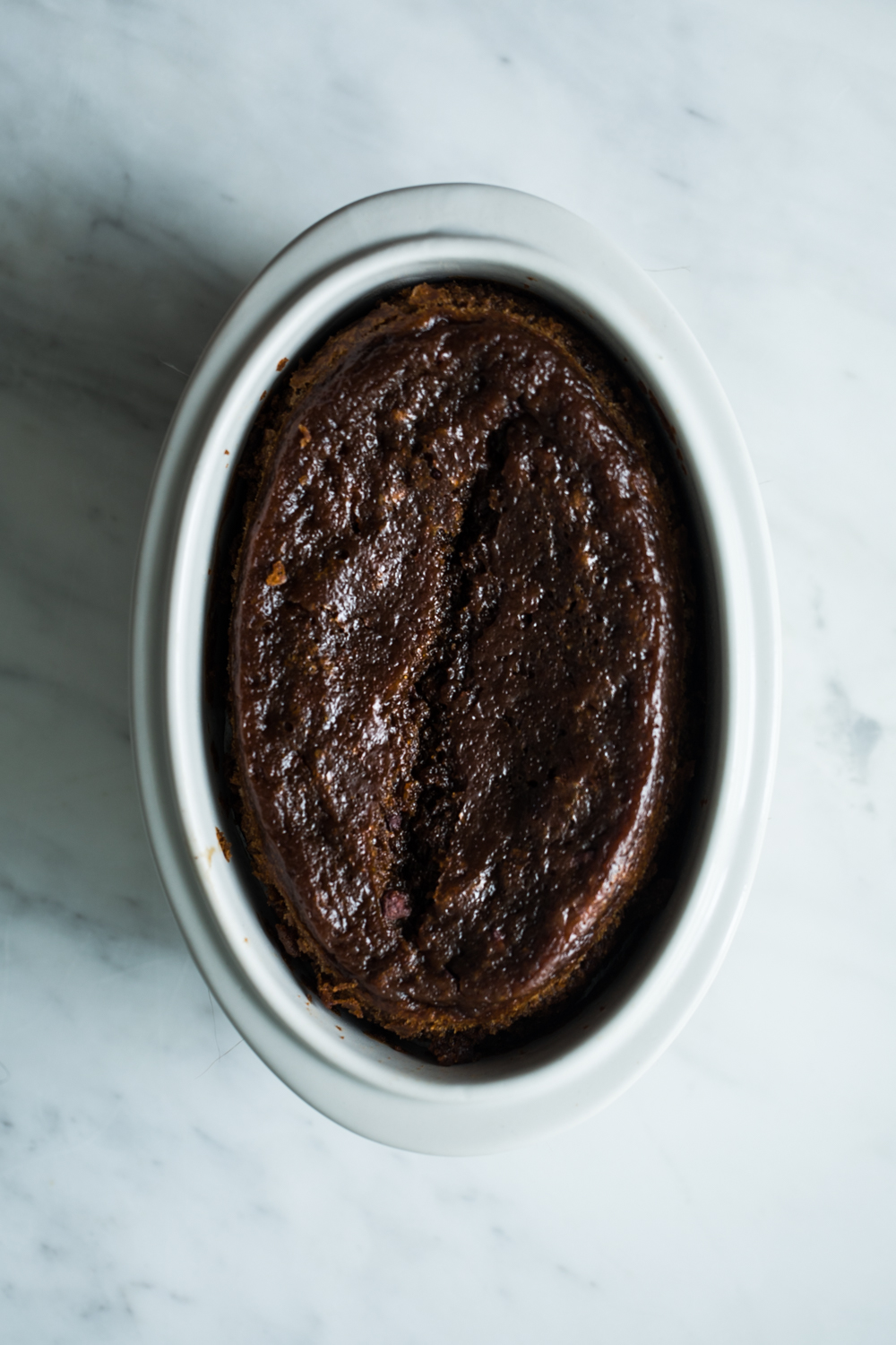 Sticky Persimmon Pudding w/ Gula Melaka Butterscotch