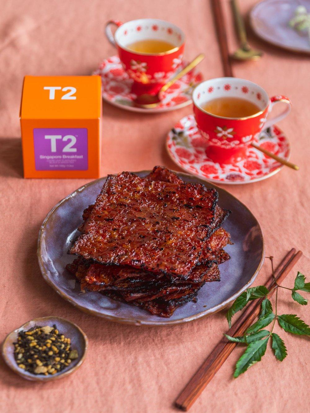 Chinese New Year 2019: T2 Food pairing