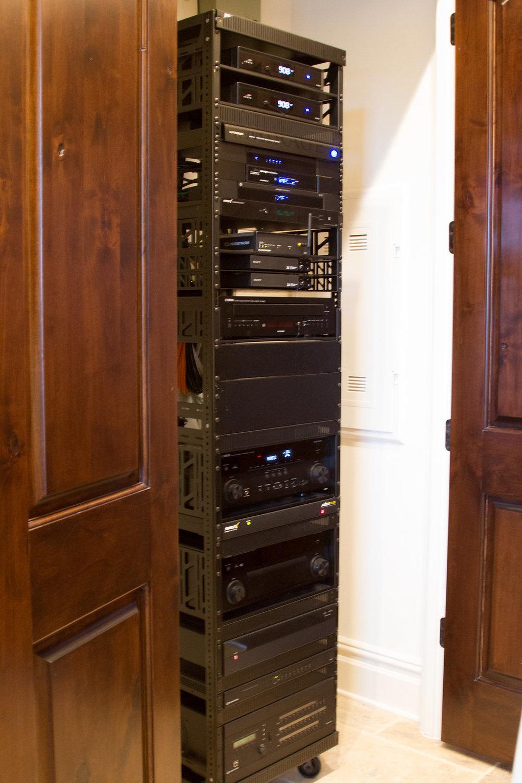 Custom System Rack
