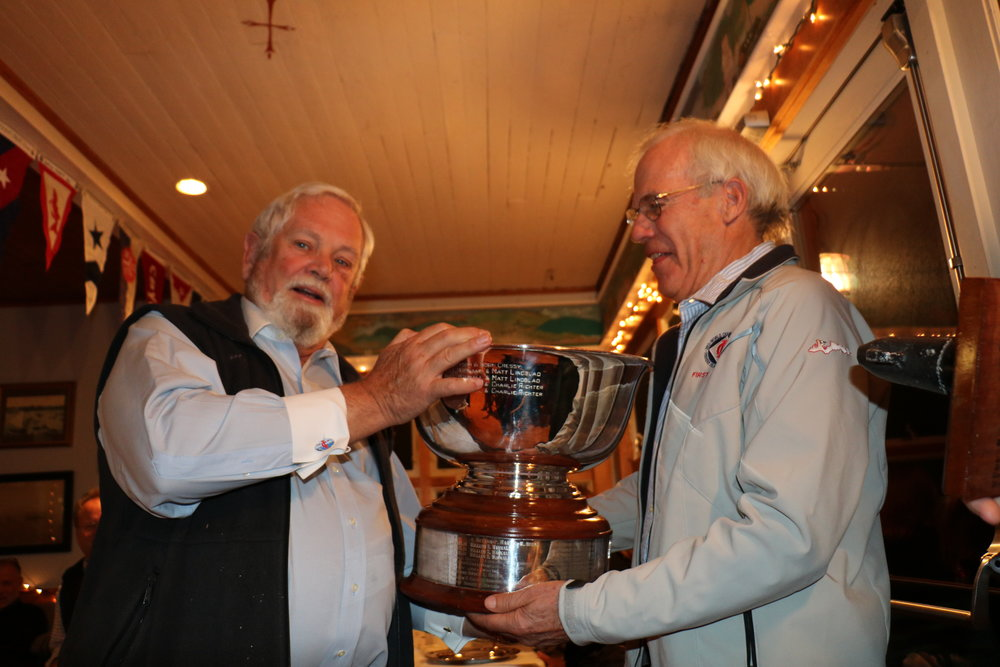 Herb presenting Bill with the Rowen Bowl